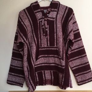 Sweaters - Mexican poncho